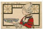 Ploaré No 2 Carte Peinte Bretonne Porcelaine Art Nouveau Au Bon Vieux Temps - Douarnenez