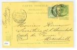 HANDGESCHREVEN BRIEFKAART Uit 1909 Van WONCK BELGIE Naar MAASTRICHT (5631) - 1905 Grove Baard