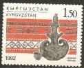Kirghisistan 1992 MNH**  -  Yv. 4 - Tessili
