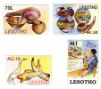 Lesotho / Art / Heron / Fish / Painting - Lesotho (1966-...)