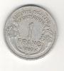 France, Monnaie 1 FRANC MORLON, 1950 République Française, Alu - Francia