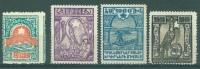 ARMENIE - MNH/** - 1922 - MONT ARARAT BATELIER ALLEGORIE  -  Yv  134 137 138 139  - Lot 6420 - Arménie