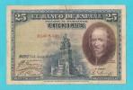 SPAGNA 25 PESETAS 15 AGOSTO 1928 - [ 1] …-1931 : Eerste Biljeten (Banco De España)