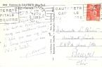 HAUTES PYRENEES (65) - CAUTERETS -  FLAMME N°  CAU 708 R - CAUTERETS / CAPITALE / DU SOUFRE  1933 - Storia Postale