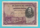 SPAGNA 50 PESETAS 15 AGOSTO 1928 - [ 1] …-1931 : Prime Banconote (Banco De España)