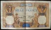 BILLET 1000 FRANCS...CERES MERCURE (16 Fevrier 1933) B.2353 - 939 (la Photo Est Le Billet Vendu) Petit Pli Vertical Visi - 1871-1952 Frühe Francs Des 20. Jh.