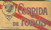 Carnet -ref 52- Carnet De 11 Cartes Postales Colorisées - Corrida De Toros -theme Corridas - Taureaumachie  -taureaux - - Stieren