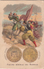 Chromo Publicitaire Poulain  Histoire Générale Des Monnaies  France Bourbon Louis Xii - Poulain