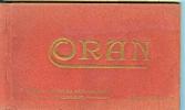 Carnet -ref 30-carnet  De 17 Cartes Postales Sur La Ville D Oran -vues Generales Colorisées De La Ville- Cartes Bon Etat - Oran