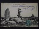 Le CROISIC (Loire-Atlantique) - Le Menhir - Chiens Et Leurs Maîtres - Animée - Voyagée Le 10 Juin 1910 - Cliché TOP ! - Le Croisic