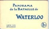 Carnet -ref 23-carnet -de 12 Cartes Postales -panorama De La Bataille De Waterloo Du A Louis Dumoulin Peintre - Belgique