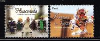 T)2011,PERU,SET(2),TYPICAL DANCE OF PERU,MNH.- - Peru
