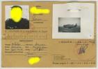 Armée De L'Air. Extrait Du Livret Individuel D'un Pilote à Oudjda (Maroc) 1957. - Documents
