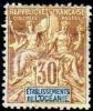 Etablissement Français De L´OCEANIE Poste   9 * MH Type Allégorie Groupe Cote 15 € [ColCla] - Unused Stamps