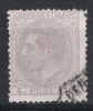 01565 España Edifil 208 O Cat.:  52,- - 1875-1882 Kingdom: Alphonse XII