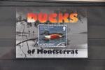 G 138 ++ MONTSERRAT 2012 DUCKS EEND BIRDS OISEAU VOGELS ENTE CANARD  MNH ** - Montserrat
