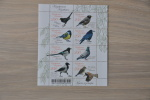 M 1 ++  2011 KAZACHSTAN BIRDS VOGELS OISEAUX  ++ HIGH FACE VALUE ++  MNH POSTFRIS ** - Kazachstan
