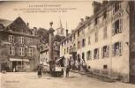Chaudesaigues-un Coin De La Place Du Gravier-hotel Du Midi-cpa - Sonstige Gemeinden