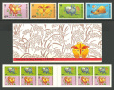 Hong Kong 1997 ( New Year - Year Of The Ox ) - Complete Set + Booklet Pane, 3 Each - MNH (**) - Neufs