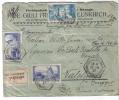 BOL1408 - FRANCIA , Assicurata 10/8/1936  Per L' Italia . Busta Condizioni Scarse - Francia