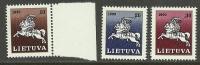 LITAUEN Lietuva Lithuania 1990 Ritter MNH - Litauen