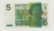 Netherlands 5 Gulden 1973 XF++ CRISP Pre-Euro Banknote P 95 - [2] 1815-… : Kingdom Of The Netherlands
