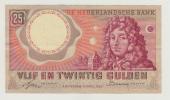 Netherlands 25 Gulden 1955 VF++ AXF P 87 - [2] 1815-… : Kingdom Of The Netherlands