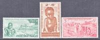 A.E.F.  CB 2-4   **  VICHY Issue - A.E.F. (1936-1958)