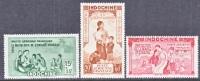 Indochina   CB 2-4   **  VICHY Issue - Indochina (1889-1945)