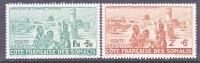 Fr. Somalia Coast   CB 1-2    **   VICHY Issue - French Somali Coast (1894-1967)