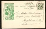 Suisse N° 66 Sur Carte Postale De 1900 TB - 1882-1906 Armoiries, Helvetia Debout & UPU