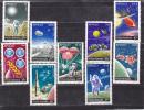 R0UMANIE 1973 ESPACE APOLLO Yvert 2729-2737 NEUF** MNH Cote : 7.50 Euro - Space