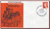 Australia 1970 - FDC 6c Queen Elizabeth II, Definitive Stamp, Mi 450 - Königshäuser, Adel