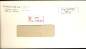 AANGETEKENDE ENVELOP * STROOKJE BREDA Franklin Mint Bd 70502 - 1980-... (Beatrix)