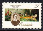 Canada MNH Scott #1227 37c Frances Anne Hopkins - 1952-.... Règne D'Elizabeth II