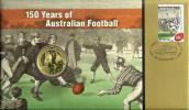 AUSTRALIA $1 150YEARS OF AUSTRALIAN FOOTBALL FRONT QEII HEAD1YEAR PNC 2008 UNC NOT RELEASED READ DESCRIPTION CAREFULLY!! - Australie