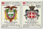 1985 - Sovrano Militare Ordine Di Malta PA 17/18 Stemma - Francobolli