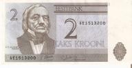 BILLETE DE ESTONIA DE 2 KROONI SERIE AE DEL  AÑO 1992 (BANKNOTE) - Estonia