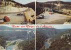 Route Des Gorges De L´Ardèche - DS, 4L, Ford Anglia, MG. - France