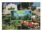Cp, Etats Unis, San Diego, Old Town, Multi-Vues, écrite - San Diego