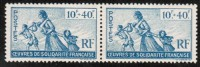 FRENCH COLONIES  Scott #  B 7**  VF MINT NH Pair - France (former Colonies & Protectorates)