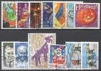 LOT DE FRANCE  2001  OBL VOIR SCAN_COTE €  7.40_  15 - Sammlungen