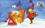 FINLAND 2003 Christmas On FD Card.  Michel 1676-77 - Finland