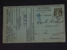 Carte Caisse De Retraite Kessel-Loo Vers Leuven 1935 Lijfrentekas Ceres (ref 60) - 1932 Cérès Et Mercure