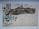 AUSTRIA 1900 POSTCARD FROM KLATOVY CZECH REPUBLIC TO VIENNA WITH AUSTRIAN STAMPS - Briefe U. Dokumente