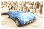 AC Cobra 289   -  Tableau De Francois Bruere  -  Carte Postale - PKW