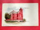 - Kentucky >  Owensboro   Third Baptist Church 1907 Cancel-ref 600 - Owensboro