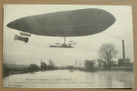 La Motte Breuil - Le Clement Bayard 2 Traverse L´aisne Pour Rentrer à Son Aero Parc - 18 Avril 1910 - Dirigeables