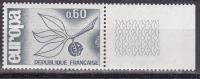 N° 1456 EUROPA 1965 0,60 Bleu-Gris - Unused Stamps