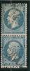 GC  2644  /  NEUVILLE DU POITOU  /  VIENNE  SUR N°  22 -LOT 9821-variété - Marcophily (detached Stamps)